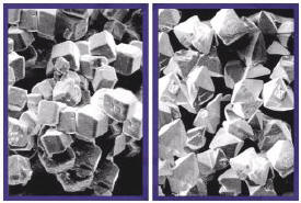 Material is commonly an aggregate of single crystal grains